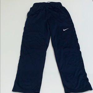 Nike Boys Athletic Pants, Blue, Large